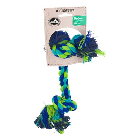 Pet Champion 2 Knot Rope Medium Dog Toy Color May Vary](Dog Robe)