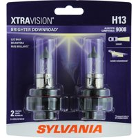 SYLVANIA H13 XtraVision Halogen Headlight Bulb, Pack of 2