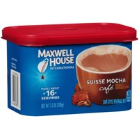 (3 Pack) Maxwell House International Suisse Mocha Coffee, 7.2 oz Canister
