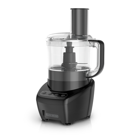 BLACK+DECKER Easy Assembly 8-Cup Food Processor, Black, (Magimix By Robot Coupe Food Processor 14 Cup)