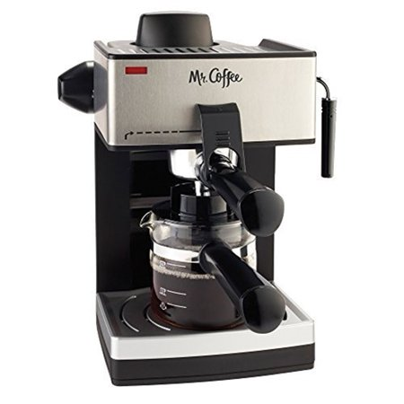 Mr. Coffee 4-Cup Steam Espresso System with Milk (Best Steam Espresso Machine)