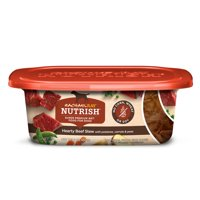 (8 Pack) Rachael Ray Nutrish Natural Wet Dog Food, Grain Free, Hearty Beef Stew, 8 oz tub