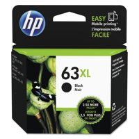 HP 63XL Black High-Yield Original Ink Cartridge (F6U64AN)