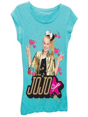 JoJo Siwa Glitter Graphic T-Shirt (Little Girls & Big Girls)