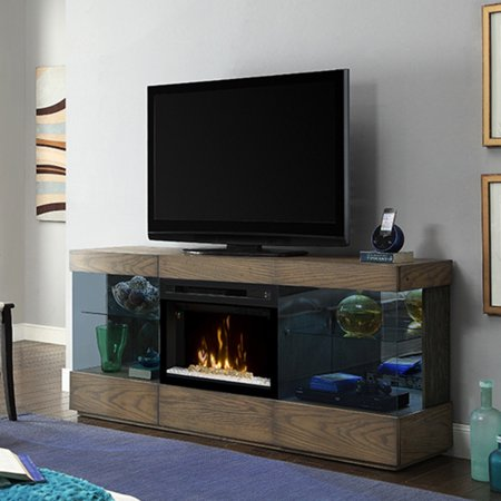 Dimplex axel media console electric fireplace with glass - Going to bed with embers in fireplace ...