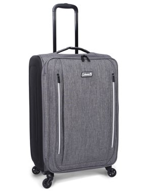 """Coleman 28"""" Altitude Upright Spinner Luggage, Heather Gray"""