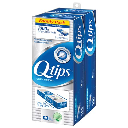 Q-tips Cotton Swabs, 1000 ct