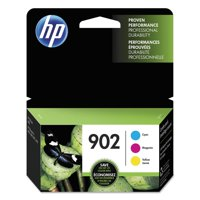 Hp 902 Tri-Color Original Ink Cartridges, 3-pack (T0A38AN)