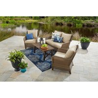 Better Homes & Gardens Camrose Farmhouse Outdoor Conversation Set