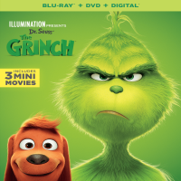 Illumination Presents: Dr. Seuss' The Grinch (Blu-ray + DVD + Digital Copy)