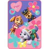 Nickelodeon's Paw Patrol Paw Patrol Puppy Pals Kids Plush Blanket, Twin