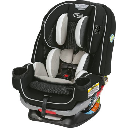 Graco 4Ever Extend2Fit 4-in-1 Convertible Car Seat, Clove