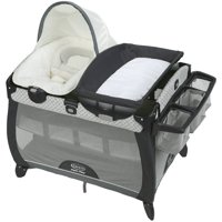 Graco Pack 'n Play Quick Connect Portable Napper DLX Playard with Bassinet, McKinley