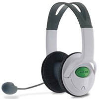 Tomee Xbox 360 MZX-1000 Stereo Headset, White