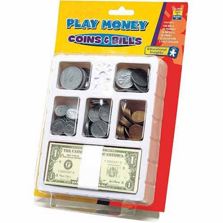 Play Coin (Educational Insights Play Money - Coins & Bills Try )