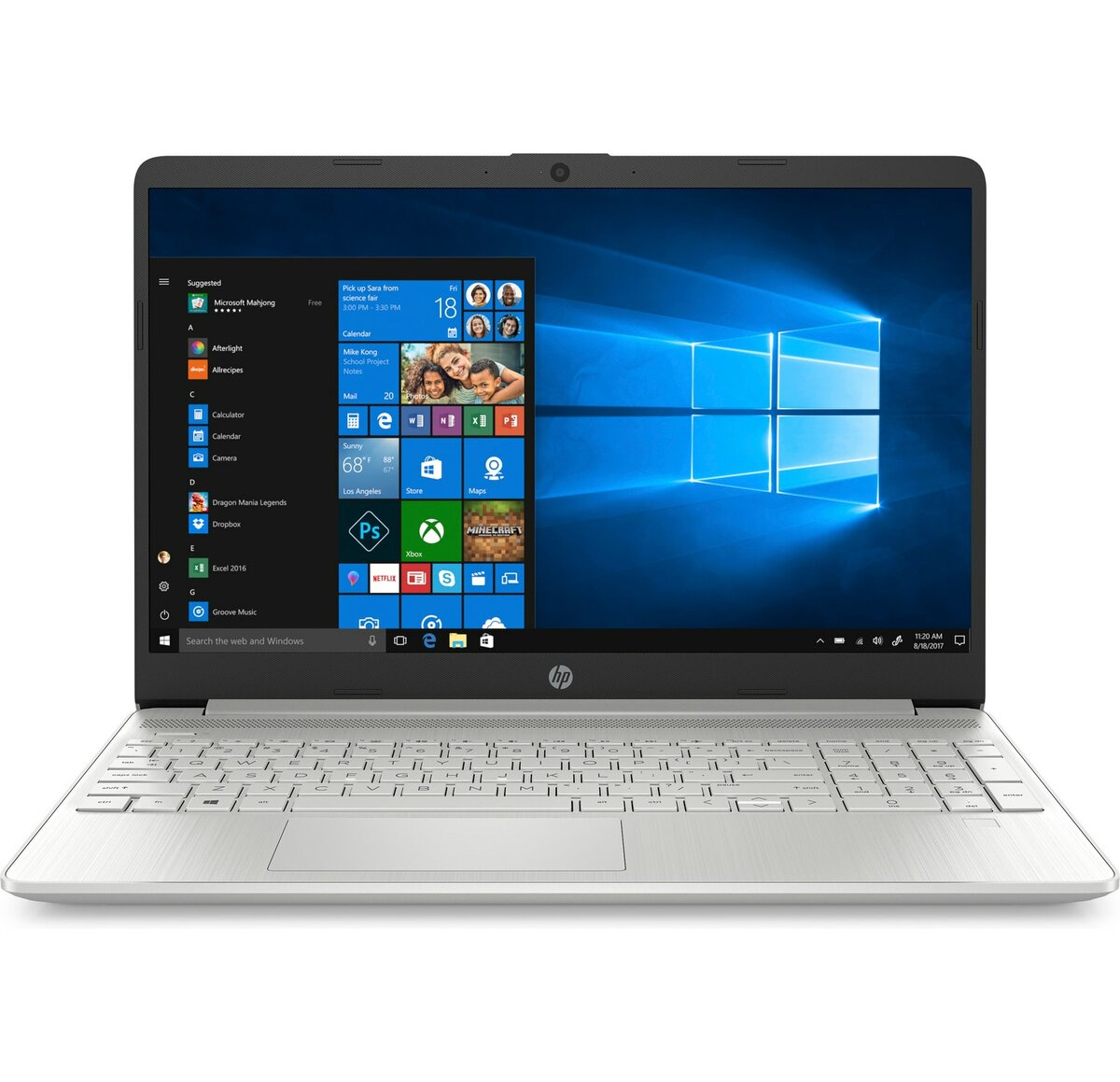 "HP 15-dy1027od 15.6"" HD Laptop (Quad i7-1065G7 / 8GB / 256GB SSD)"