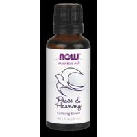 NOW Essential Oils Peace & Harmony Calming Blend, 1 Oz