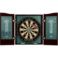EastPoint Sports Derbyshire Official Size Bristle Dartboard & Cabinet Set