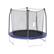 Best Trampolines - Skywalker Trampolines 8-Foot Trampoline, with Safety Enclosure, Blue Review