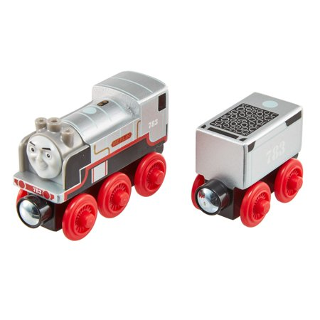 Thomas & Friends Wood Merlin the Invisible Wooden Steam Engine Train - Thomas The Train And Friends