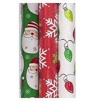 Christmas Wrapping Paper, 3ct