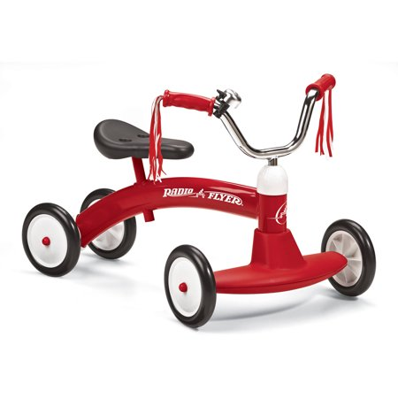 Radio Flyer, Scoot About, Ride-On for Kids, Steel, Red - Flyer Flies