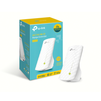 TP-Link RE200 AC750 Dual-Band Wireless Wall-plugged Range Extender (works with any router or WiFi system)