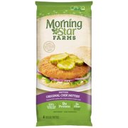 Morning Star Farms Chik Patties Original Veggie Burgers, 4 ct, 10 oz