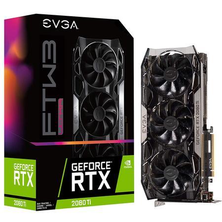 EVGA GeForce RTX 2080 Ti FTW3 Ultra 11G-P4-2487-KR Graphic