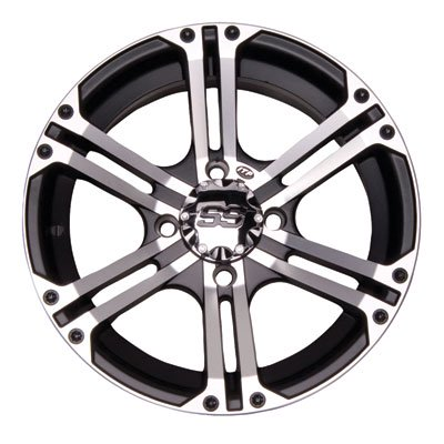 - 4/115 ITP SS212 Alloy Series Wheel 14x6 4.0 + 2.0 Machined for Arctic Cat PROWLER XTX 700 H1 EFI 2009