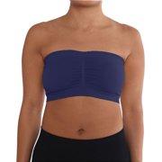56810d251bc43 SLM Women s Plus Size Padded Strapless Bra Bandeau
