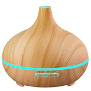 VicTsing 300ml Cool Mist Humidifier Ultrasonic Aroma Essential Oil Diffuser for Office Home