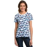 11399a89140 Juniors Disney Stitch All-Over T-Shirt White