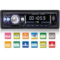 Tagital Car Stereo with Bluetooth In-Dash Single Din Car Radio, Car MP3 Player USB/SD/AUX/Wireless Remote Control