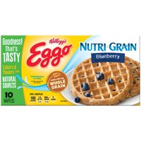 Kellogg's Eggo Nutri-Grain Blueberry Waffles 10 ct Box
