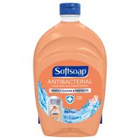 (2 pack) Softsoap Antibacterial Liquid Hand Soap Refill, Crisp Clean, 50 Oz