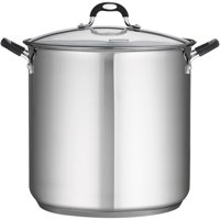 Tramontina Stainless Steel 22-Quart Covered Stock Pot