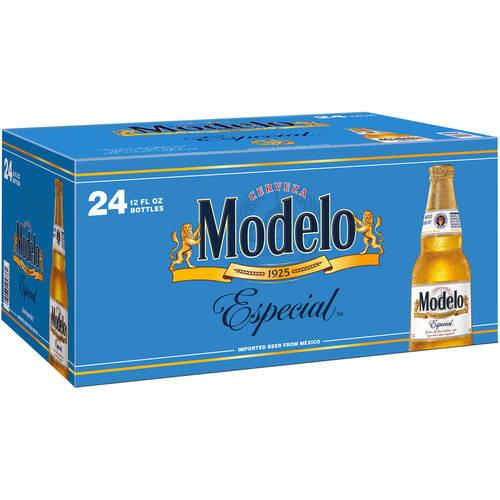 Modelo Especial Beer, 24 pack, 12 fl oz