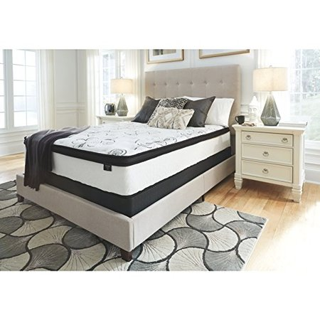 Signature Design by Ashley 12 in. Chime Hybrid Mattress Boxwood 2 1/2' King