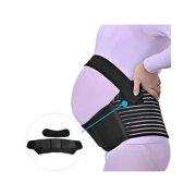 47c234b68c4 Black XXL Maternity Support Belt Pregnancy Belly Band Back Abdominal Brace