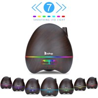 Ktaxon 300ML Aroma Humidifier Essential Oil Diffuser W/ Mood 7 Color LED Lights,Auto Shut-Off w/Remote Control Timer