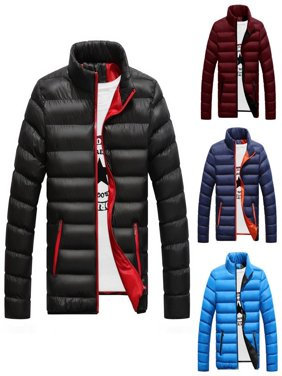 Men´s Winter Warm Padded Down Jacket Ski Jacket Snow Coat Climbing