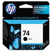 HP 74,(CB335WN) Black Original Ink Cartridge