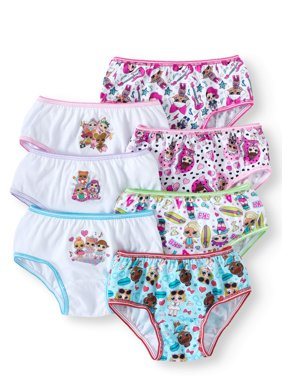 Lol Surprise Girls Underwear, 7 Pack