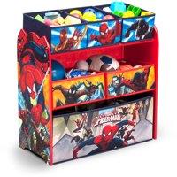 Marvel Spider-Man Multi-Bin Toy Organizer by Delta Children