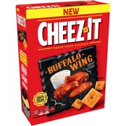 (2 Pack) Cheez-It Buffalo Wing Baked Snack Crackers, 12.4 oz