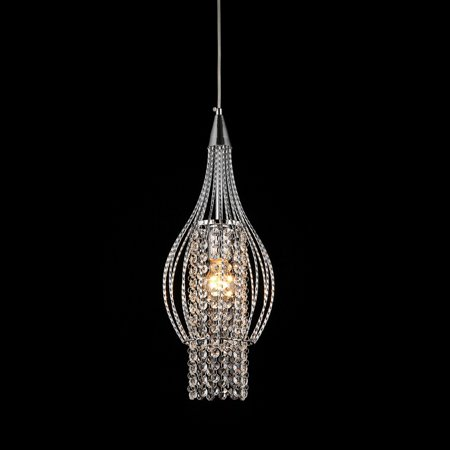 Warehouse of Tiffany Xyza 1 Light Crystal - Mocha Finish Chandeliers