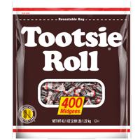 Tootsie Roll Midgees Candies Chews, 43.1 Oz., 400 Count