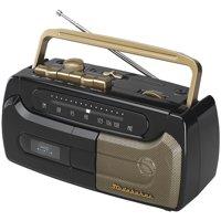 Studebaker SB2127BG Portable Cassette Player & Recorder with FM Radio