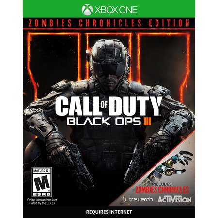 - Call of Duty: Black Ops 3 Zombie Chronicles Edition, Activision, Xbox One, 047875881228